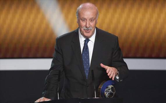 Del Bosque: Premier League has aided Spain's success
