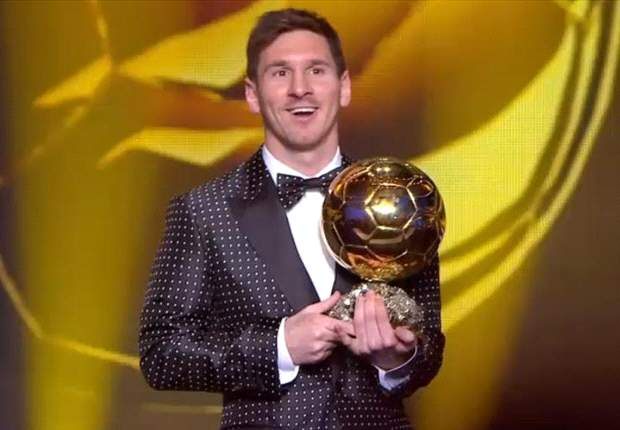 Ballon d'Or winner Messi: This is really quite unbelievable