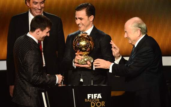 Relive Fifa Ballon d'Or 2012