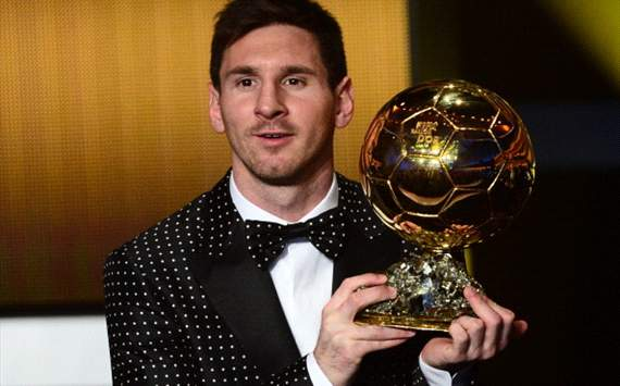 Lionel Messi - Gala Balón de Oro 2012