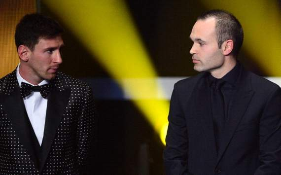 Iniesta: Messi will win a fifth Ballon d'Or