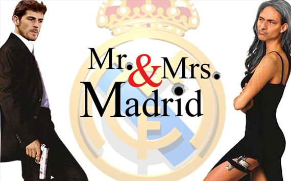 Casillas y Mou son Mr. y Mrs. Madrid