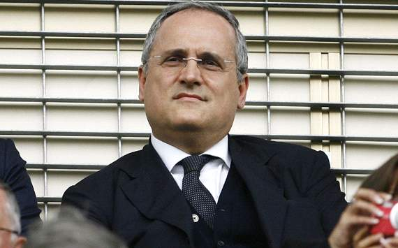 Lazio president Lotito denies Lampard link