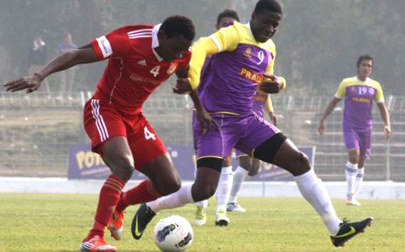 Chika Wali, Ranti Martins, Prayag United vs Pune FC, I-League