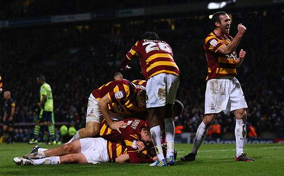Bradford chairman: We would reject a Europa League place