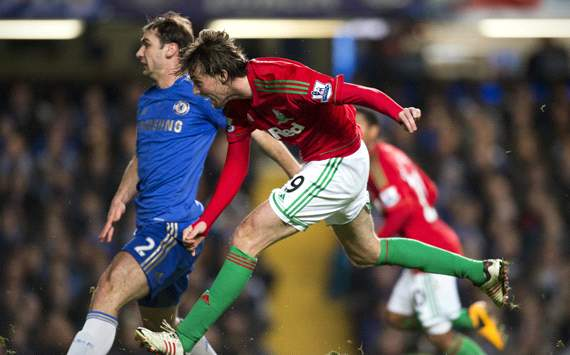 Capital One Cup, Chelsea v Swansea City, Miguel Michu
