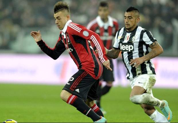 El Shaarawy: AC Milan were unlucky against Juventus