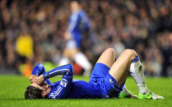 League Cup, Chelsea v Swansea City, Fernando Torres