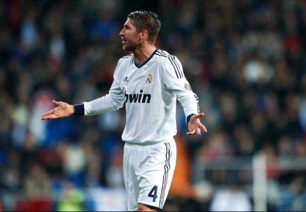 Real Madrid defender Ramos slams referee after dismissal
