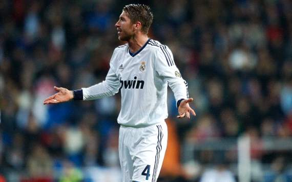 Sergio Ramos handed five-game ban for insulting referee