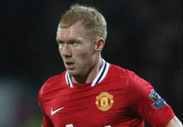 Scholes suffers injury setback, reveals Sir Alex Ferguson