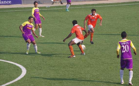I-League:Sporting Clube de Goa vs Prayag United