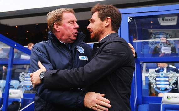 EPL: Harry Redknapp - Andre Villas-Boas, QPR v Tottenham
