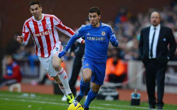 EPL; Eden Hazard; Stoke City Vs Chelsea