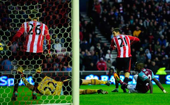 EPL - Sunderland v West Ham United, Adam Johnson