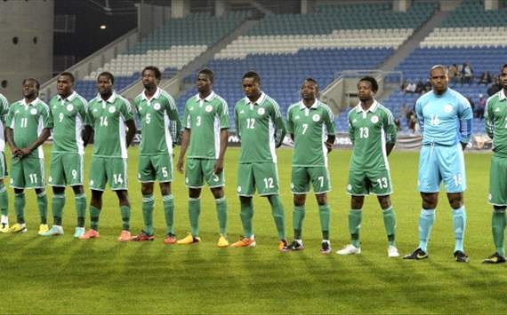 Nigeria line up