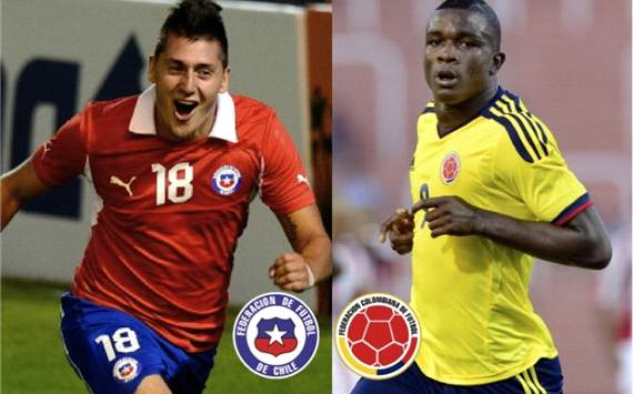 Chile vs Colombia Sub-20