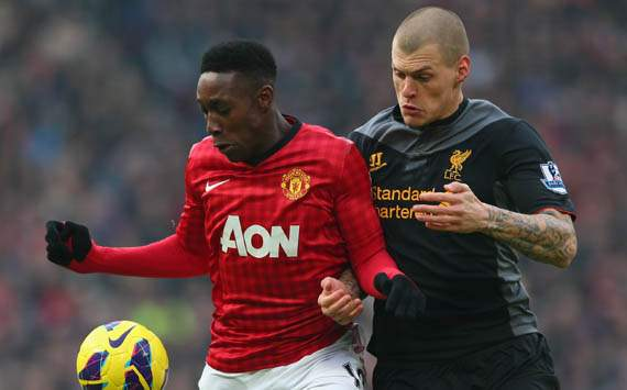 Van Persie hails 'brilliant' Welbeck as Manchester United see off Liverpool