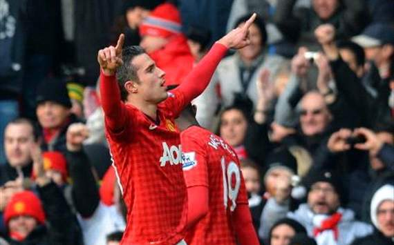 I should have scored more for Manchester United, says Van Persie