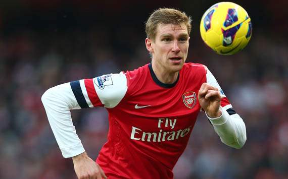 Arsenal need character to beat Chelsea, says Mertesacker