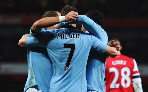 EPL: James Milner, Arsenal v Manchester City