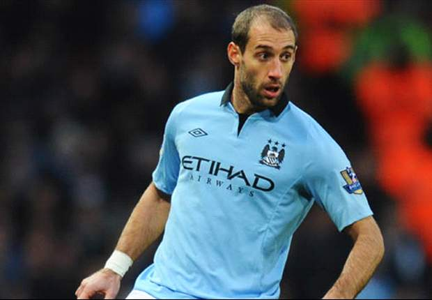 Zabaleta wary of 'tough' away day against Everton
