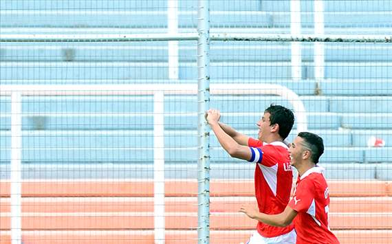 Chile Sub 20 - Mendoza 2013