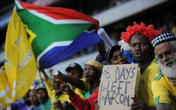 South Africa gears up for Afcon 2013