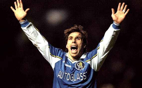 Chelsea want me as boss at some point, reveals Zola