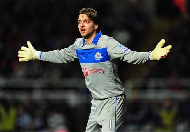 Newcastle's Krul delighted with Metalist heroics despite injury scare