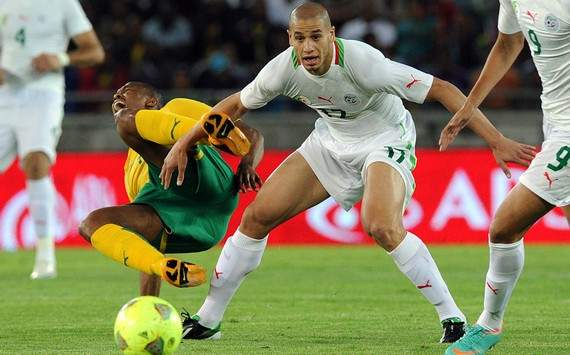 Friendly : Kagisho Dikgacoi vs Adlene Guedioura (South Africa vs Algeria)