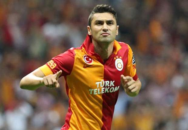 All eyes are on Drogba & Sneijder but Burak Yilmaz could be Galatasaray's dangerman
