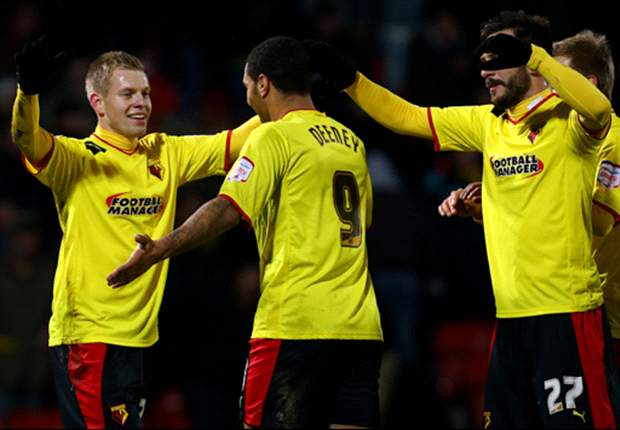 Football League round-up: Vydra double inspires Watford rout over Huddersfield