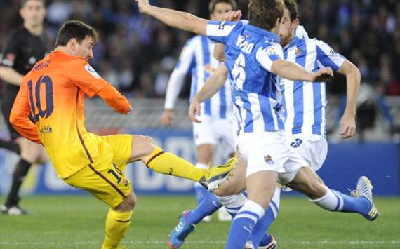 Messi - Real Sociedad vs Barcelona