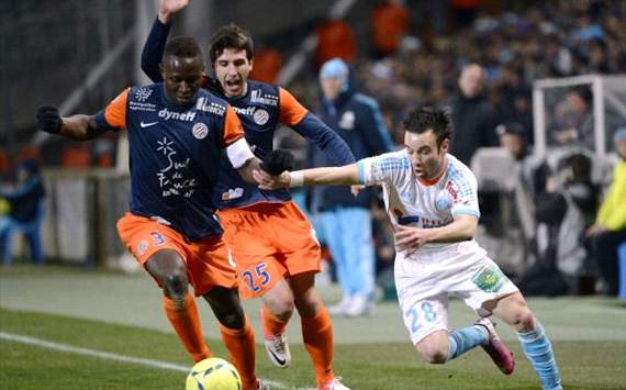 Ligue 1 - Marseille vs Montpellier