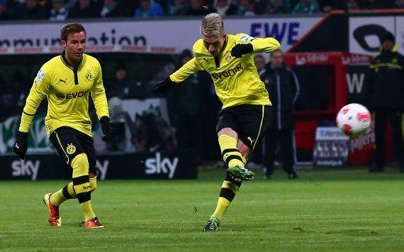 Reus delight at goal-hungry Dortmund's demolition of Werder Bremen