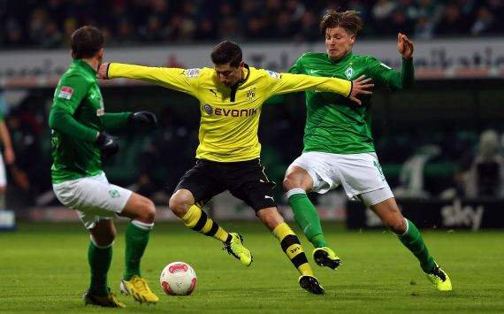 Robert Lewandowski, Dortmund gegen Bremen