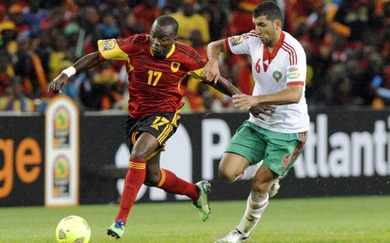 CAN 2013 : Mateus vs Adil Hermach (Angola vs Morocco)