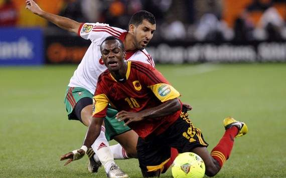 CAN 2013 : Geraldo vs Adil Hermach (Angola vs Morocco)
