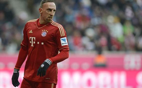 Ribery: Bayern Munich are as good as Real Madrid and Barcelona