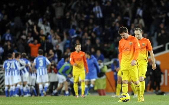 Real Sosiedad 3-2 Barcelona