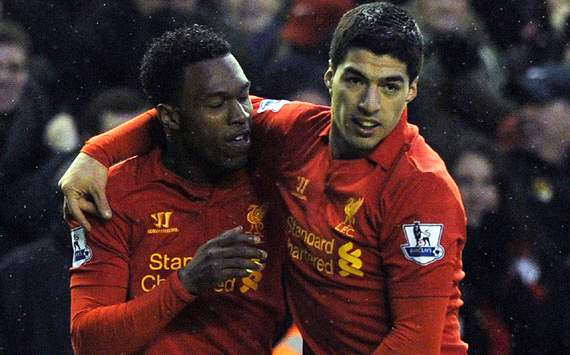 Luis Suarez,Daniel Sturridge,Liverpool