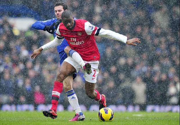 Im really confident - Diaby talks up Arsenals top-four chances