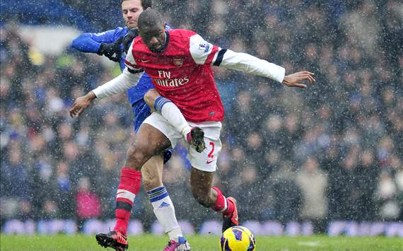 'I'm really confident' - Diaby talks up Arsenal's top-four chances