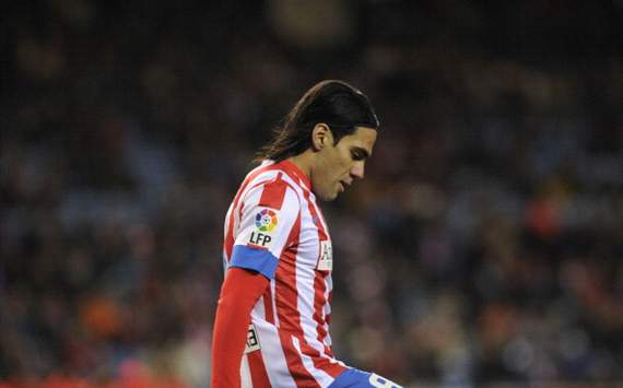 Falcao: Atletico defeat to Rubin was strange