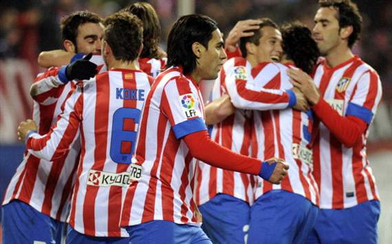 Atletico Madrid would be on the way to La Liga glory, but for unbreakable Barcelona