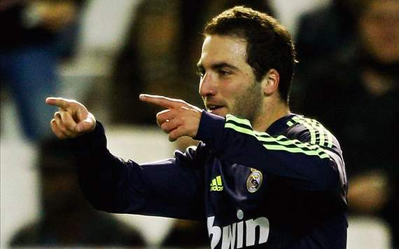 Higuain: Madrid can do a lot of damage to United