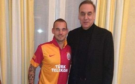 Sneijder: I am no longer one of the top five players in the world