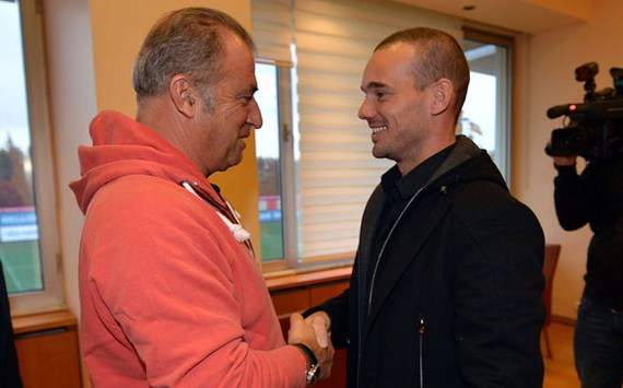 Sneijder: I'm proud to be a Galatasaray player, I want to learn Turkish right away