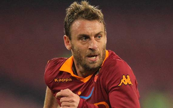 Chelsea in talks to sign De Rossi